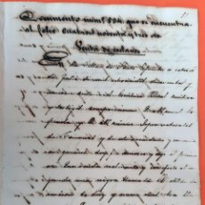 Manoscritti antichi: DOCUMENTO DE ESCLAVOS VENTA EN SANTO ESPIRITU DE UNA MORENA CUBA 1859 ORIGINAL D13 23. Lote 192570640