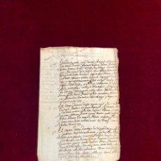 Manuscritos antiguos: SERVICIOS DE SOLDADO ORÁN PORTUGAL FRANCIA MAZALQUIVIR ÁLVARO DE BAZÁN . Lote 192639380