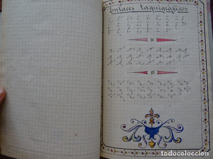 Manuscritos antiguos: Taquigrafía, Método taquigráfico - Foto 8 - 192914181