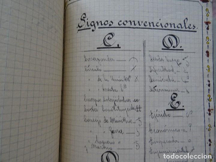 Manuscritos antiguos: Taquigrafía, Método taquigráfico - Foto 12 - 192914181