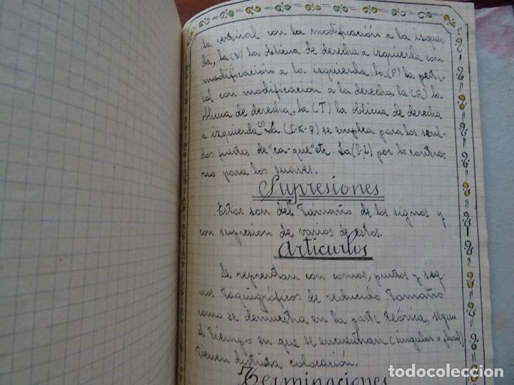 Manuscritos antiguos: Taquigrafía, Método taquigráfico - Foto 14 - 192914181