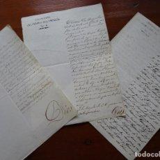 Manuscritos antiguos: FILIPINAS, MILITARIA, GRACIAS POR TERREMOTO 1863 Y LICENCIA DE MATRIMONIO, 1864, 1865. Lote 192914677