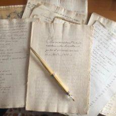 Manuscritos antiguos: LORCA- MURCIA- MOLINO HARINERO LA ESTRELLA- RIOS TURRILLA Y LUCHENA- AÑOS 1.846- 1.885. Lote 192991211