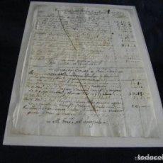 Manuscritos antiguos: MANUSCRITO ENCARGO IGNACIO VERGARA Y JOSE VERGARA VALENCIA 1750 TAVERNES BLANQUES INMACULADA. Lote 193018063
