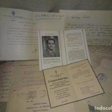 Manuscritos antiguos: CORRESPONDENCIA MANUSCRITA D.EUGENIO NADAL GAYA - AÑO 1944 - EXCEPCIONAL.. Lote 193944735