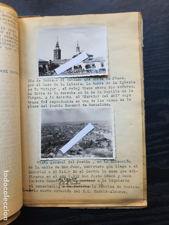 Manuscritos antiguos: 1949. NOTICIA SOBRE LA VILLA REAL DE NAVALCARNERO, POR FRANCISCO SÁNCHEZ GÓMEZ - Foto 3 - 194205403
