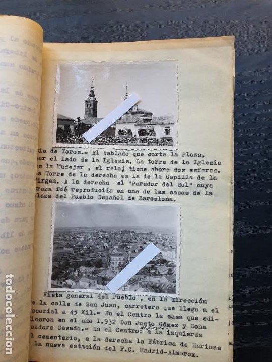 Manuscritos antiguos: 1949. NOTICIA SOBRE LA VILLA REAL DE NAVALCARNERO, POR FRANCISCO SÁNCHEZ GÓMEZ - Foto 4 - 194205482