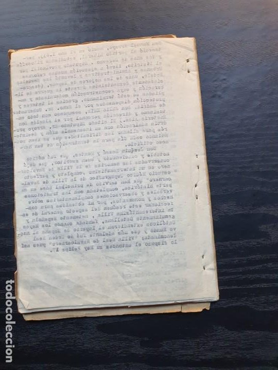 Manuscritos antiguos: 1949. NOTICIA SOBRE LA VILLA REAL DE NAVALCARNERO, POR FRANCISCO SÁNCHEZ GÓMEZ - Foto 6 - 194205482