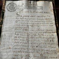 Manuscritos antiguos: EXCEPCIONAL DOCUMENTO MANUSCRITO FABRICANTES DE PAPEL FONT, FCO. GUARRO, RAMON ROMANI, AÑO 1797. Lote 194207455