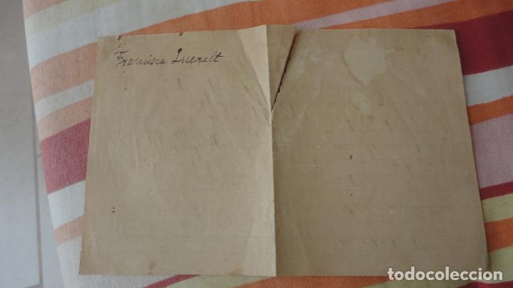 Manuscritos antiguos: ANTIGUA CARTA.ANDRES A.BESSA.CORREDOR COMERCIAL.TARRAGONA 1909. FRANCISCA QUERAL MORELL. - Foto 5 - 194217226