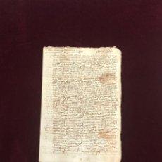 Manuscritos antiguos: CONCIERTO ENTRE VECINOS DE TOLEDO Y SEGOVIA SOBRE UNA MINA EN VILLA DEL PRADO (MADRID) 1574. Lote 194304441