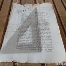 Manuscritos antiguos: DOCUMENTO FERNANDO VI SEXTO AÑO 1747 PLATERIA JUNTA GENERAL COMERCIO ,MONEDAS, FERIA FRAUDES,LEER . Lote 194391552