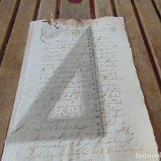 Manuscritos antiguos: DOCUMENTO FERNANDO VI SEXTO AÑO 1747 BOTICARIO, CIRUJANO, MEDICO CASA MISERICORDIA HOSPITALES ,LEER . Lote 194392440