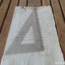 Manuscritos antiguos: DOCUMENTO FERNANDO VI SEXTO AÑO 1747 ORDENES SUPERIORES REGIDORES OFICIALES ,LEER . Lote 194392995