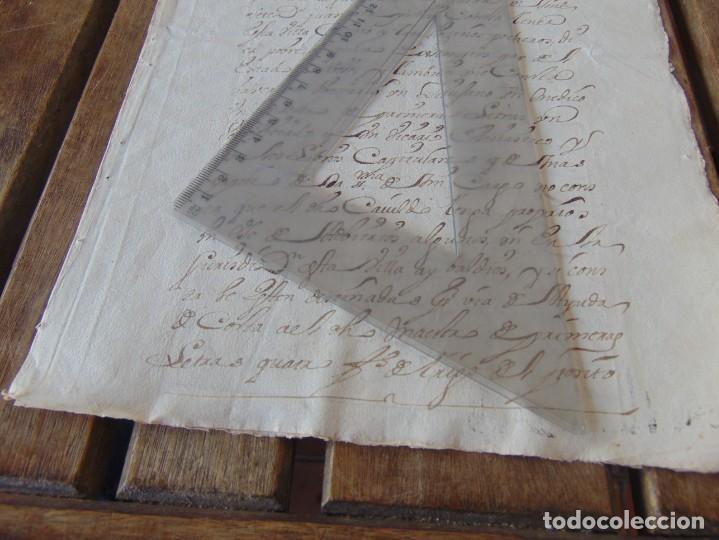 Manuscritos antiguos: DOCUMENTO FERNANDO VI SEXTO AÑO 1747 CIRUJANO, MEDICO ,FRANCISCANOS, DESCALZOS ,TRIGO, FANEGA ,LEER - Foto 3 - 194393276