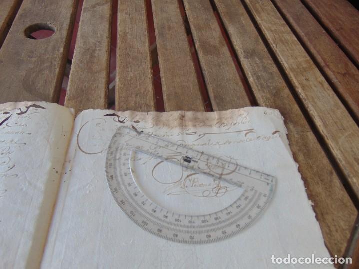 Manuscritos antiguos: DOCUMENTO FERNANDO VI SEXTO AÑO 1747 CIRUJANO, MEDICO ,FRANCISCANOS, DESCALZOS ,TRIGO, FANEGA ,LEER - Foto 7 - 194393276