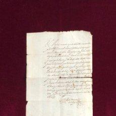 Manuscritos antiguos: ARZOBISPO DE SANTIAGO DE COMPOSTELA - GUERRA PORTUGAL DUQUE DE OSUNA PONTEVEDRA 1663 . Lote 194398431