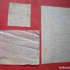 Manuscritos antiguos: SANDALIO ZAMBRANO Y VARGAS.-MANUSCRITOS.-LLERENA.-BADAJOZ.-AÑOS 1861-1900.. Lote 194504451