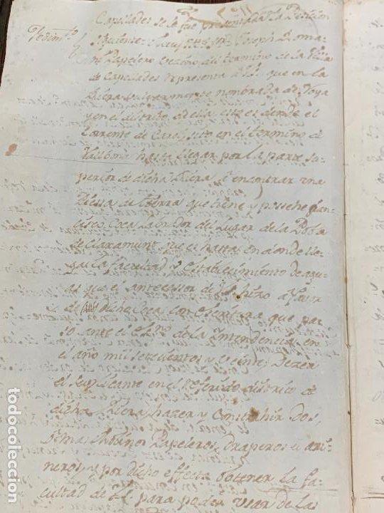 Manuscritos antiguos: Antiguo documento de 1791 - ROMANÍ, COCA - historia fabricantes de papel de Capellades - Foto 4 - 194533841