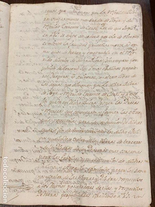 Manuscritos antiguos: Antiguo documento de 1791 - ROMANÍ, COCA - historia fabricantes de papel de Capellades - Foto 5 - 194533841