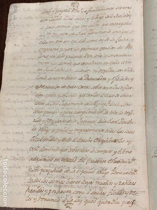 Manuscritos antiguos: Antiguo documento de 1791 - ROMANÍ, COCA - historia fabricantes de papel de Capellades - Foto 11 - 194533841