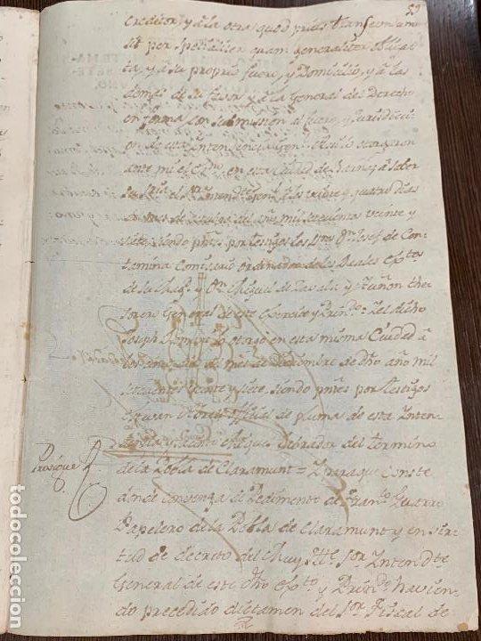 Manuscritos antiguos: Antiguo documento de 1791 - ROMANÍ, COCA - historia fabricantes de papel de Capellades - Foto 12 - 194533841