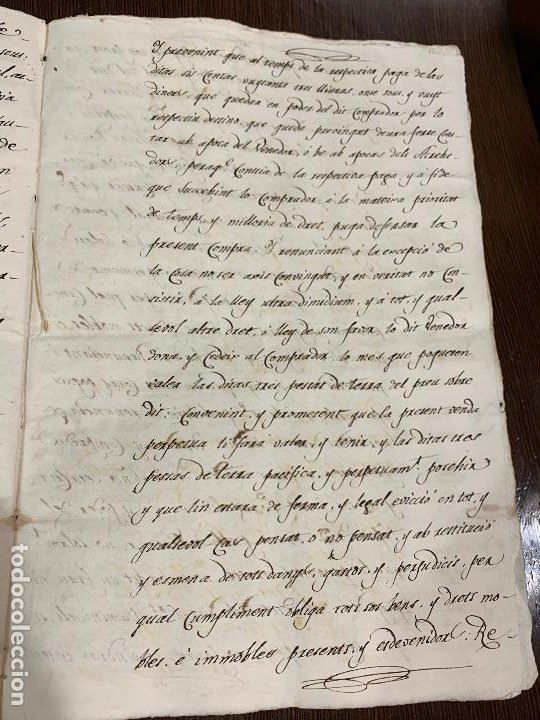 Manuscritos antiguos: Antiguo documento de 1815 - ROMANÍ - historia fabricantes de papel de Capellades, inquisicion - Foto 9 - 194535026