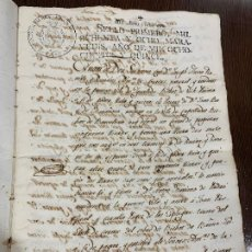 Manuscritos antiguos: ANTIGUO DOCUMENTO DE 1815 - ROMANÍ - HISTORIA FABRICANTES DE PAPEL DE CAPELLADES, INQUISICION. Lote 194535026