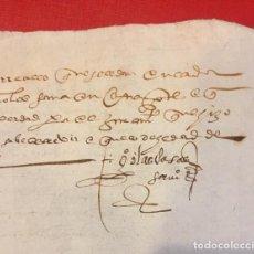 Manuscritos antiguos: SEVILLA 1576, JARDINERO DE LOS ALCAZARES MANUSCRITO. Lote 194564370