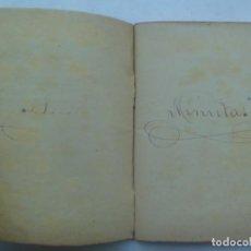 Manuscritos antiguos: LIBRO DE MINUTAS. MANUSCRITO , MAIRENA DEL ALCOR ( SEVILLA ), 1902. Lote 194632022