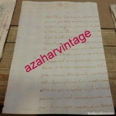 Manuscritos antiguos: SEVILLA, 1768, RECLAMACION DOTACION PRESOS POBRES DE LAS CARCELES, FIRMA MARQUES DE SOBREMONTE. Lote 194654040