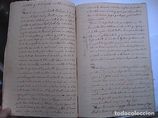 Manuscritos antiguos: MANUSCRITO SOBRE CAPITULACIONES MATRIMONIALES.1867. VILAFRANCA DEL PENEDES.BARCELONA. - Foto 3 - 194680025
