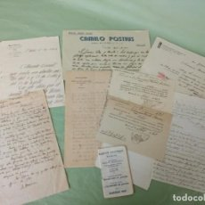 Manuscritos antiguos: LOTE PAPELES ANTIGUOS. Lote 194787203