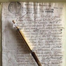 Manuscritos antiguos: JEREZ DE LA FRONTERA- CADIZ- MANUSCRITO CONVENTO SAN FRANCISCO - FIRMA ALCALDE 1.784-. Lote 194783575