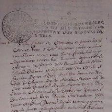 Manuscritos antiguos: DOCUMENTO HISTORICO DE LA CONFORMACION DEL CABILDO DE MENDOZA AÑO 1793 COMPLETO. Lote 194872183