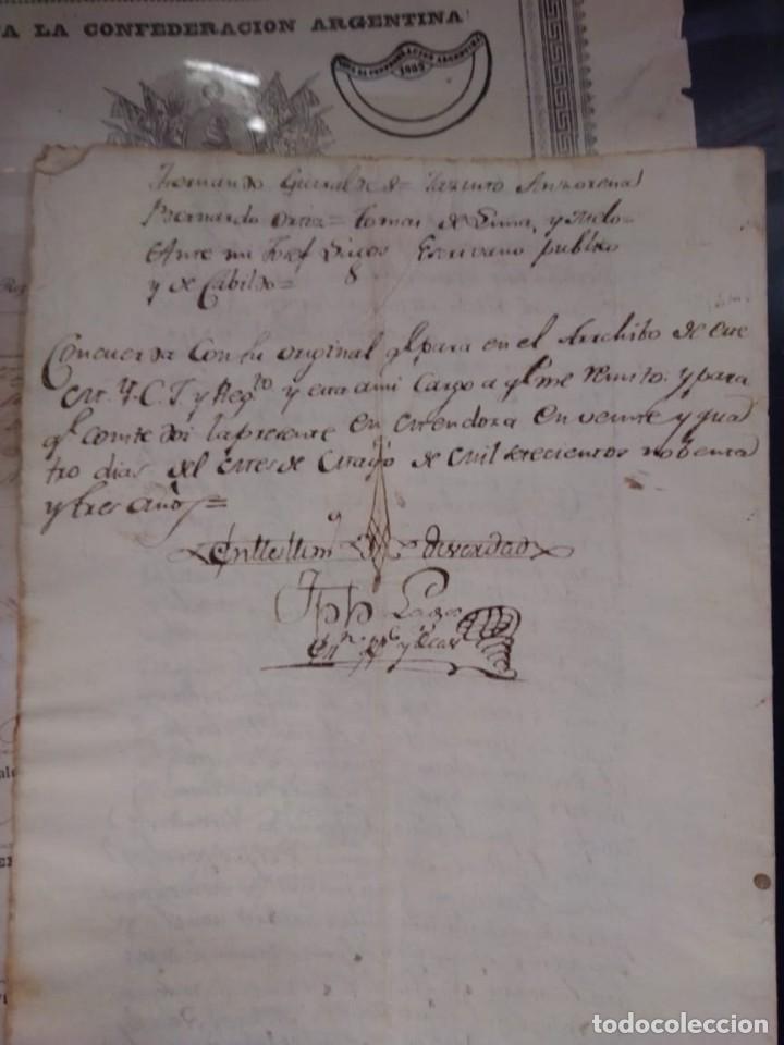 Manuscritos antiguos: documento historico de la conformacion del cabildo de Mendoza año 1793 completo - Foto 5 - 194872183