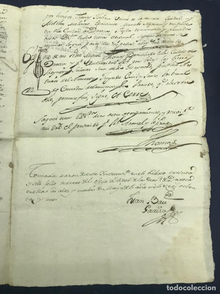 Manuscritos antiguos: 1781. VENTA DE UNA CASA Y UN BODEGÓN SITO EN NOMBREVILLA (ZARAGOZA). DAROCA - Foto 5 - 194876133