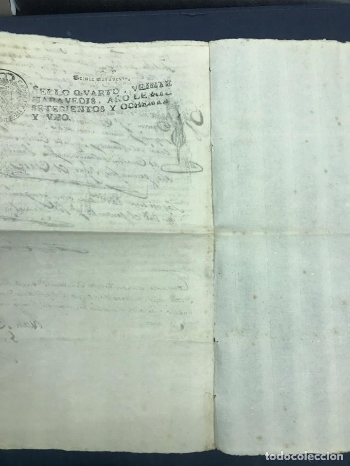 Manuscritos antiguos: 1781. VENTA DE UNA CASA Y UN BODEGÓN SITO EN NOMBREVILLA (ZARAGOZA). DAROCA - Foto 6 - 194876133