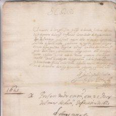Manuscritos antiguos: CARTA AUTÓGRAFA DEL GENERAL ÍÑIGO DE BRIZUELA Y URBINA. FUENTERRABÍA. 1624. MIRANDA DE EBRO . Lote 194942205