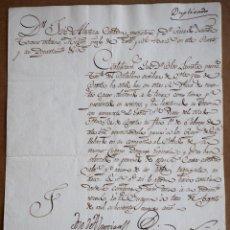 Manuscritos antiguos: 1809 . VENEZUELA. COLONIAS. BONITA CARTA DESDE LA GUAIRA. Lote 194962423