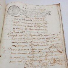Manuscritos antiguos: LIBRO MANUSCRITO GENEALOGÍA DE LA CASA DE OVIEDO, INSIGNE FAMILIA MILITAR DE SEVILLA 1767. 192 PAG.. Lote 194989896