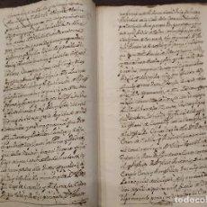 Manuscritos antiguos: 1739 VITORIA HERENCIA DE TEODORA FRANCISCA DE ALDAMA. 20 PAGINAS MANUSCRITO ALAVA. Lote 195048141