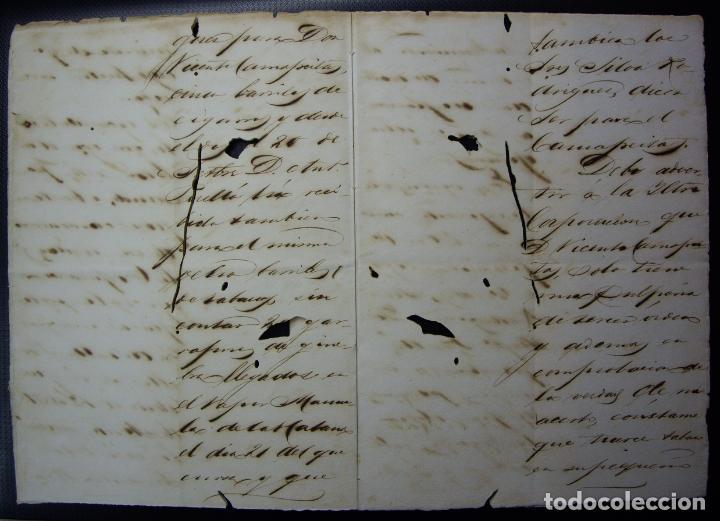 Manuscritos antiguos: TABACO - Arbitrio de Carga de Cabotaje - Gibara Cuba 1883 - Foto 2 - 195108765