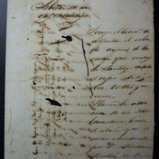 Manuscritos antiguos: TABACO - ARBITRIO DE CARGA DE CABOTAJE - GIBARA CUBA 1883. Lote 195108765
