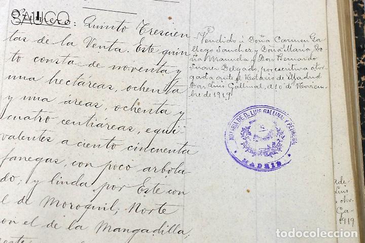 Manuscritos antiguos: TESTIMONIO CONDE DE MALUQUE 1915 - Foto 6 - 195117322