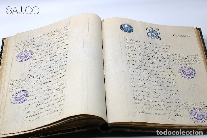 Manuscritos antiguos: TESTIMONIO CONDE DE MALUQUE 1915 - Foto 7 - 195117322