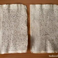 Manuscritos antiguos: MANUSCRITOS DEL SIGLO XVIII EN LATÍN. Lote 195297810