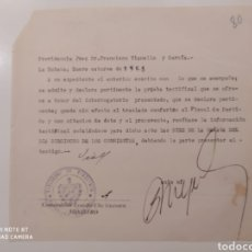 Manuscritos antiguos: ORIGINAL DOCUMENT SIGNED BY ERNESTO CHE GUEVARA MANUSCRIPT LA HABANA 1953. Lote 195345278