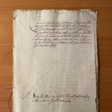 Manuscritos antiguos: MANUSCRITO EN LATÍN (1731). Lote 195356055