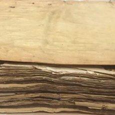 Manuscritos antiguos: MANUSCRITOS DE OSUNA Y ECIJA SEVILLA HIJUELA DE JUANA DE MENESTROSA Y AGUILAR 1666 TESTAMENTOS. Lote 195465400
